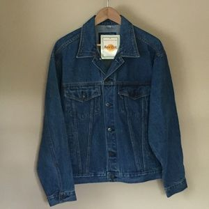 Hard Rock Cafe denim jacket - vintage jean size M